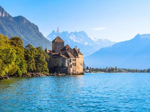 قلعه های سوئیس