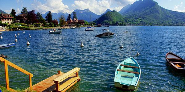فرانسه، زیباترین دریاچهها