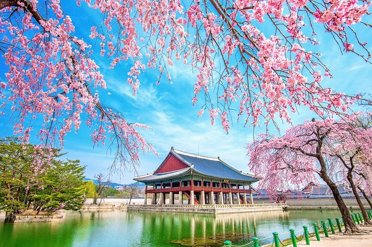 Gyeongbokgung Palace -کاخ گیونگ بوک گانگ