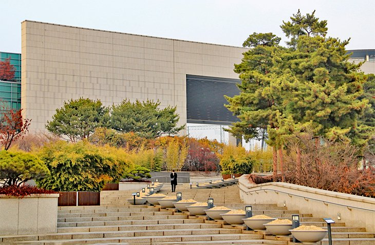 National Museum of Korea-موزه ی ملی کره