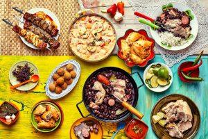 10 غذای برتر برزیل