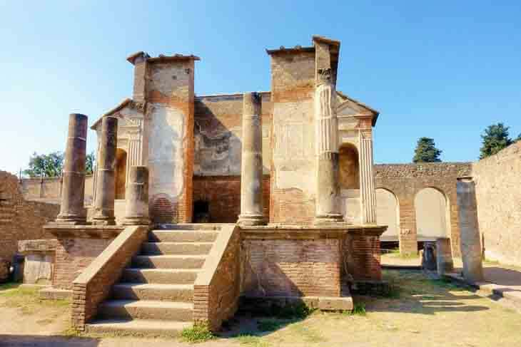 معبد داهش(Temple of Isis)