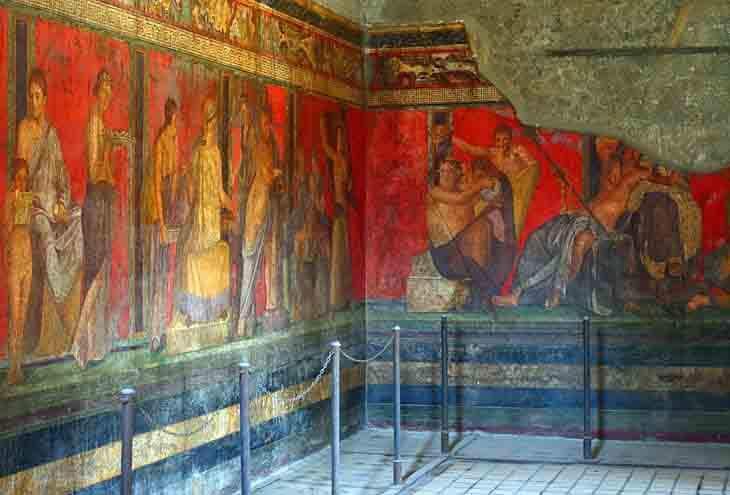 | Villa of the Mysteries safiran
