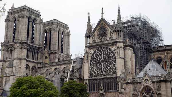   Notre Dame de Paris cathedral2