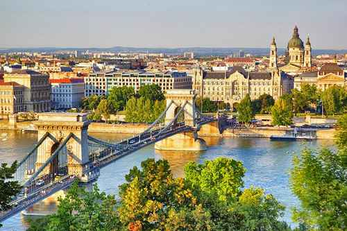 | hungary in pictures beautiful places to photograph szechenyi chain bridge