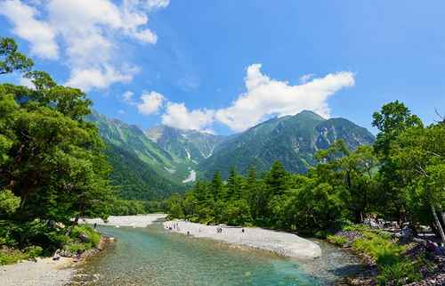   japan attractions chubu sangaku national park
