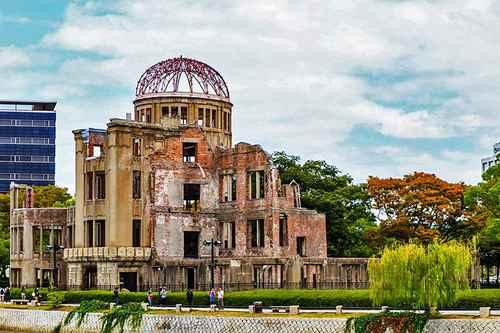 | japan attractions hiroshima peace memorial park