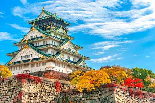 | japan top attractions osaka castle